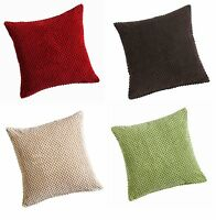 """CHENILLE SPOTS SOFT CUSHION/SOFA CUSHION COVERS,LARGE 22"""" X 22"""" SIZE GREAT VALUE"""