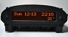 Peugeot 206 GTI GLX CC reformado 4 Bombilla MFD Pantalla de Radio Reloj Multifunción