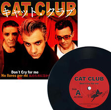 "Cat Club - Don't Cry for me 7"" EP Ltd.300 Spanish Neo Rockabilly"