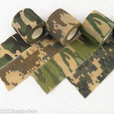 1Pc Military Camo Camouflage Wrap Rifle Stealth Outdoor Hunting Tape 5cmx4.5m