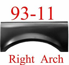 93 11 RIGHT Upper Arch, Ford Ranger, 2 Door, Extended Cab, Crew Cab, 1991-148