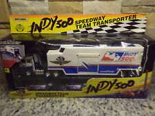 1992 Matchbox INDY 500 Speedway Team Transporter Super Rigs Semi Truck