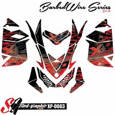 WRAP GRAPHICS DECAL KIT FOR SKI-DOO REV XP MXZ 2008 2009 2010 2012 2013 xp0003