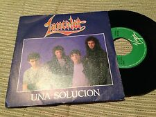 "LANCELOT - UNA SOLUCION 7"" SINGLE PROMOCIONAL - HARD ROCK HEAVY METAL"