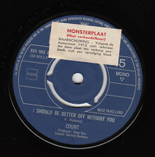 "The COUNTS - I Should Be Better Off Without You ★7"" Promo Single *Nederbeat"