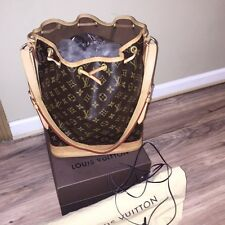 •USA SELLER• 100% AUTHENTIC LOUIS VUITTON LARGE NOE BAG GM MONOGRAM BUCKET PURSE