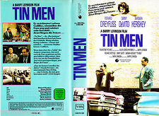 "VHS - "" Tin MEN "" (1987) - Richard Dreyfuss - Danny DeVito - Barbara Hershey"