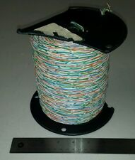 ( 1000 FT Spool ) 3124CCB 24Awg Green/Orange/Blue Cable Solid Twisted Pairs 600V