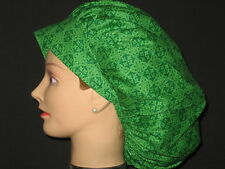 Surgical Scrub Hats Caps St.Patrick's Day Green Celtic Knots