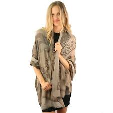 Large One Hundred Dollar Bill Benjamin Print Wrap Sarong Scarf Shawl Olive