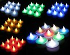 Multicolor Flicker Tealight Led With Battery Candles Wedding Party Decoration