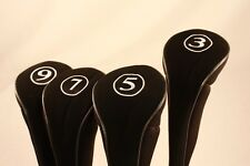 5 Complete Wholesale Sets Driver 3 5 7 9 Wood Golf Club Zipper Headcover Cover