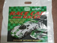 2009 HESS TOY TRUCK AND RACE CAR BAG BAKERY DOZEN (13 PIECE)