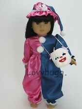 """Clown Costume Clothes for 18"""" American Girl Doll Widest Selection! Found  It!"""