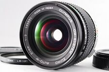 【A- Mint】 Olympus OM-SYSTEM ZUIKO AUTO-W 21mm f/2 MF Lens w/Caps From JAPAN#2132