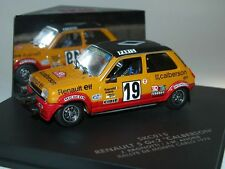 """Vitesse/Skid, skc015, renault 5 talla 2 """"calberson"""" Rally de Monte Carlo 1978, 1/43"""