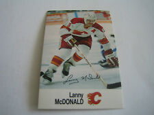 1988/89 ESSO NHL ALL-STAR COLLECTION LANNY MCDONALD CARD***CALGARY FLAMES***
