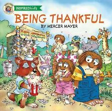 Being Thankful by Mercer Mayer (2014, Board Book)