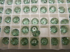 24 swarovski crystal gem cut beads,8mm erinite #5040