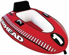 Airhead Mach 1 Cockpit Inflatable Water Tube One Rider Boat Tow Towable AHM1-1
