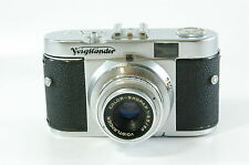 Vintage viewfinder Camera Voigtländer Vito B with skopar 50mm 3.5 ref.122162