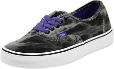NEW VANS AUTHENTIC ACID DENIM BLACK PURPLE SHOES MENS 9.5 WOMENS 11 27.5 CM NEW