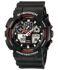 New G-Shock GA100-1A4 Men's Analog Digital X Large G Shock Watch