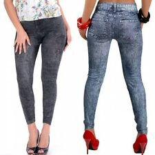New Fashion Women Sexy Jean Skinny Jeggings Stretchy Slim Leggings Skinny Pants7