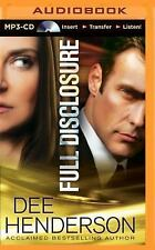 Full Disclosure by Dee Henderson (2014, MP3 CD, Unabridged)