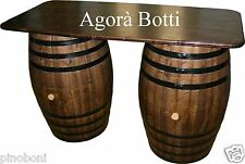 Botti/botte Bancone bar con due botti