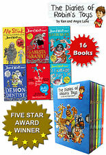 David Walliams and Robins Toys Collection 16 Books Set-Demon Dentist, Ratburger)