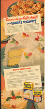 1940's Vintage ad for Swans Down Cake Flour`Jelly Beans`Rabbits (032214)