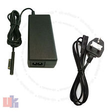 For Tablet Power Adapter Charger For Microsoft Surface Pro 3 1625 with UK Cable