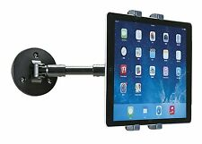 "AIDATA EXTENDABLE WALL BRACKET ARM MOUNT APPLE IPAD SAMSUNG TABLET 7"" - 10"""