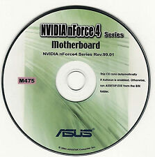 ASUS A8N-SLi DELUXE Motherboard Drivers Installation Disk M475