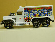 Hot Wheels Clone AMBULANCE 1/43 sc. 1999 China White Mint Loose 4 1/2 in. Long *