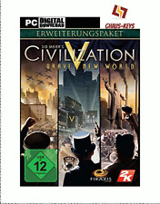 Sid Meier's Civilization V Brave New World Steam Key Pc Game EU Blitzversand