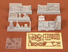 S.B.S Models,1:48, 48042, Bf-109F-2/F-4 cockpit set for Zvezda kit