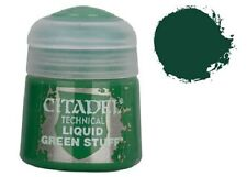GAMES WORKSHOP CITADEL COLORE ACRILICO 12ml 27-04 TECHNICAL LIQUID GREEN STUFF