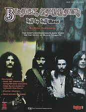 BLACK SABBATH -GEEZER BUTLER- BASS GUITAR TAB SONG BOOK