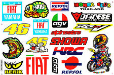 Rockstar Energy Sticker Motorcycle Racing Moto-GP Bike Logo Vinyl Graphics Kits