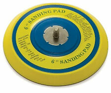 """6"""" Round  Sanding Pad Extra Thick For D/A Sander TI19226 Fits most Brand"""