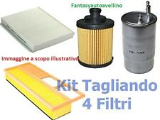 KIT TAGLIANDO 3 FILTRI FIAT PANDA 1.2 NATURAL POWER METANO 2004 A 2012