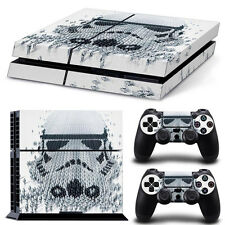 PS4 Skin & Controllers Skin Vinyl Sticker For PlayStation 4 Starwars Troopers X2