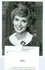 INGA SWENSON SMILING PORTRAIT BENSON TV SHOW ORIGINAL 1984 ABC TV PHOTO