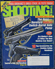 Magazine SHOOTING TIMES December 2001 !! TAURUS CIA Model 650SS2 .357 MAGNUM !!