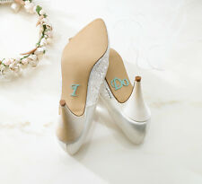 I Do Shoe Applique Stickers - Something Blue - Wedding Gift for Bride