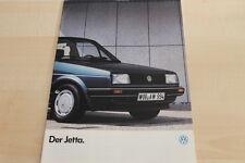132418) VW Jetta Prospekt 08/1985