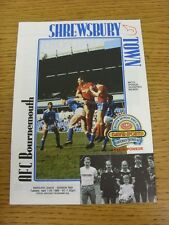 11/04/1989 Shrewsbury Town v Bournemouth  (No Major Faults Noted)