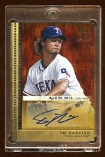 2012 TOPPS YU DARVISH GOLDEN DEBUT RC AUTO #D /10  NEVER SEEN   SCARCE VERY RARE